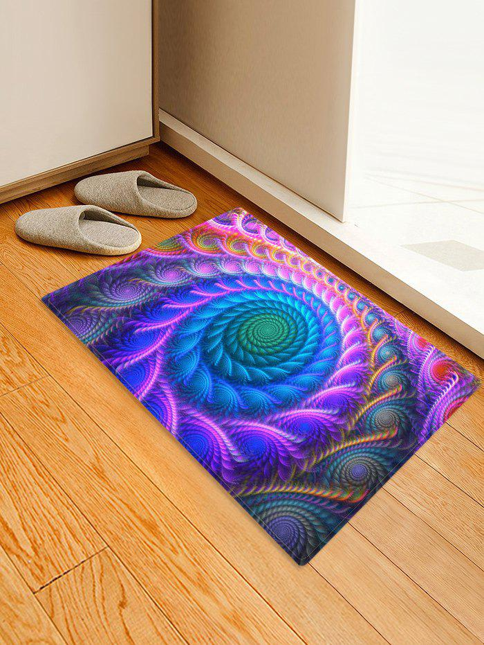 Outfit Bohemian Abstract Floral Printed Floor Mat