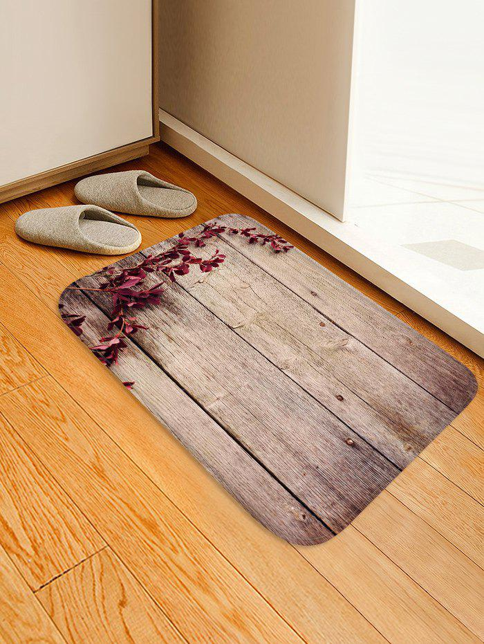 Discount Branch Wooden Board Pattern Water Absorption Area Rug