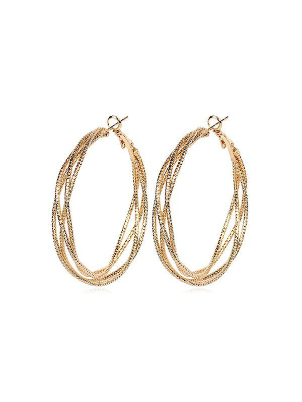 Latest Chic Circle Design Alloy Earrings