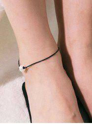 Charm Artificial Pearl Decoration Anklet -