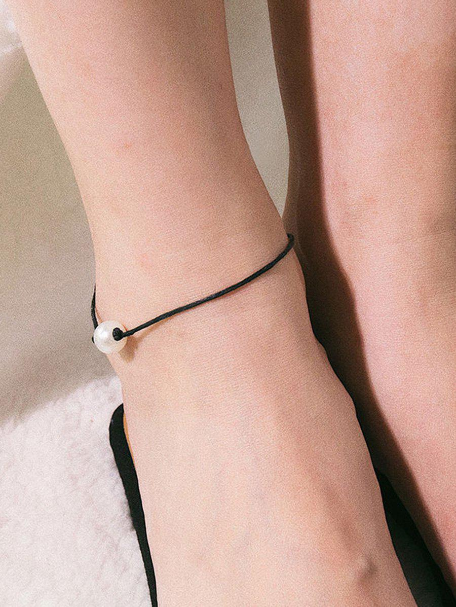 Outfits Charm Artificial Pearl Decoration Anklet