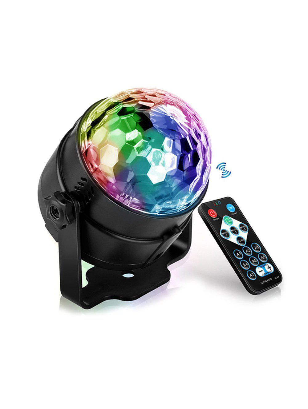 Sale Disco KTV Bar Stage Rotating Flash USB Laser Magic Ball Remote LED Light
