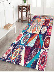 Bohemian Jointed Pattern Non-Slip Quick Dry Floor Pad Rug -