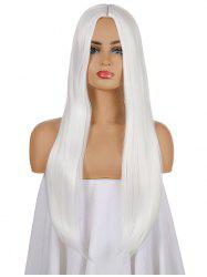 Halloween Gothic Long Straight Center Part Synthetic Wig -