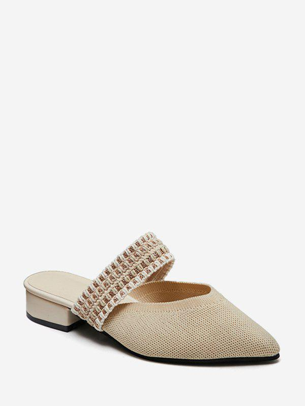 Outfit Chunky Heel Chunky Heel Casual Slippers
