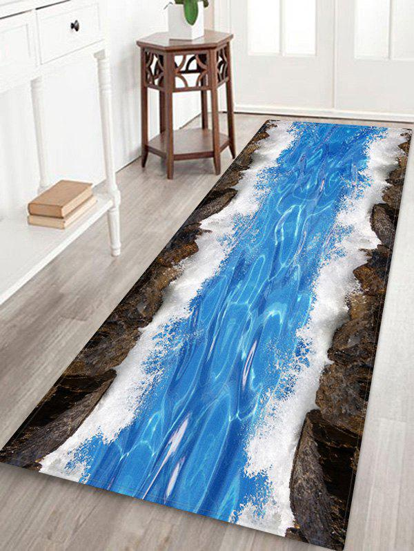 Outfits Non-Slip Quick Dry Water Pattern Floor Pad Rug