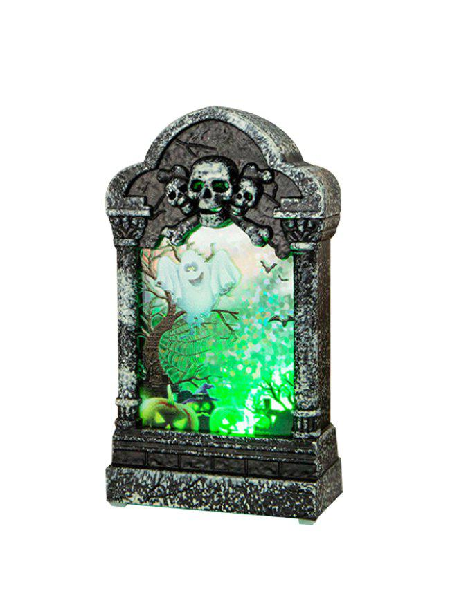 Outfit Halloween Decoration Tombstone Pattern LED Night Light