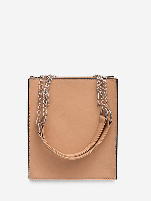 Outfits Simple Faux Leather Shoulder Bag
