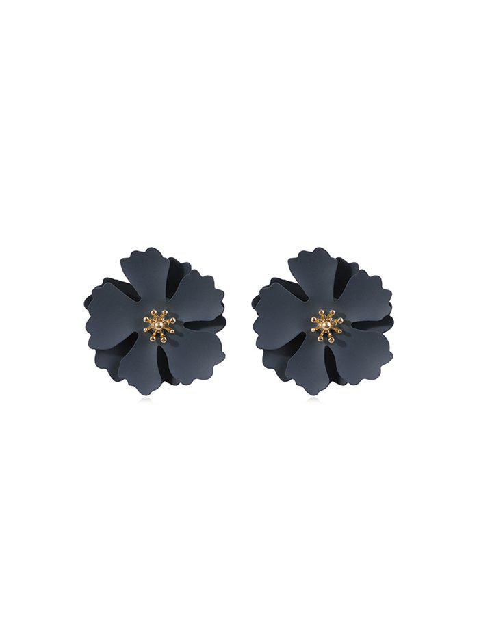 Best Alloy Layers Flower Stud Earrings