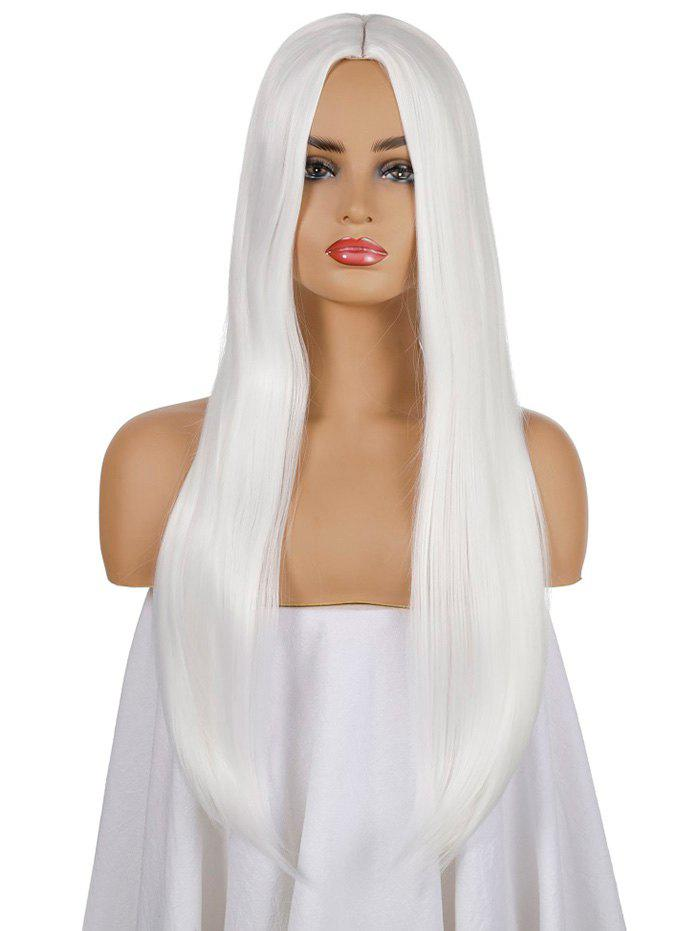 Fashion Halloween Gothic Long Straight Center Part Synthetic Wig