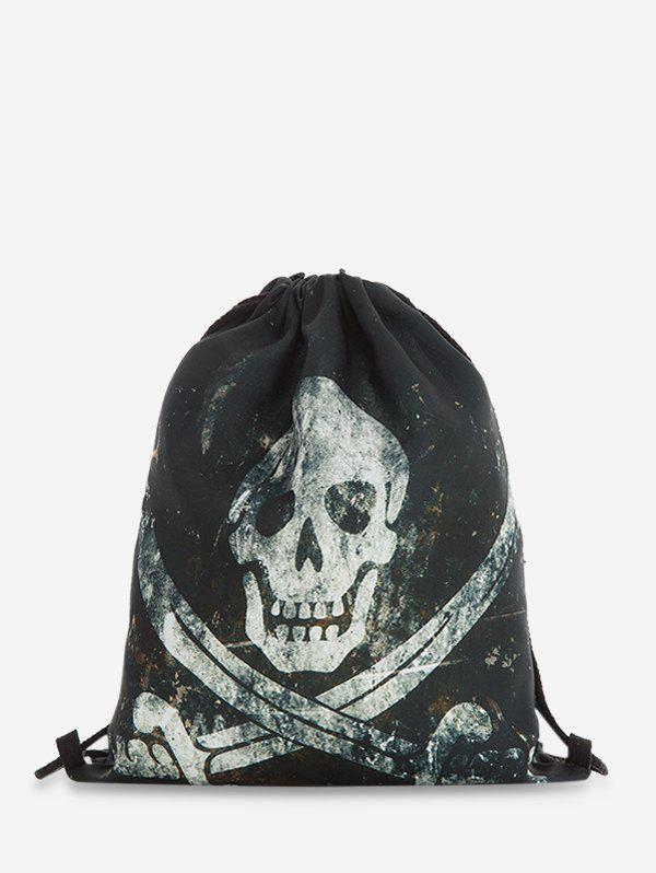 Fashion Drawstring Halloween Gothic Backpack