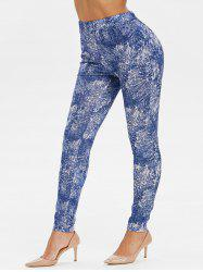 High Rise Tie Dye Pants -