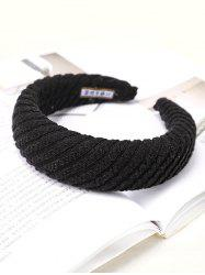 Striped Knitted Fabric Hairband -