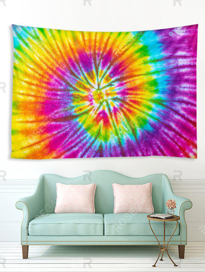 Affordable Spiral Tie Dye Print Tapestry Wall Hanging Art Decoration