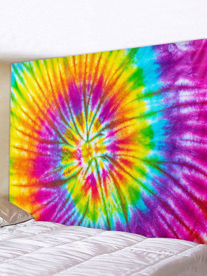 New Spiral Tie Dye Print Tapestry Wall Hanging Art Decoration