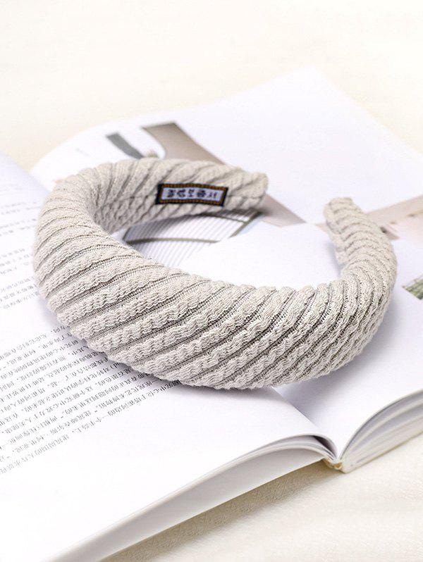 Outfit Striped Knitted Fabric Hairband