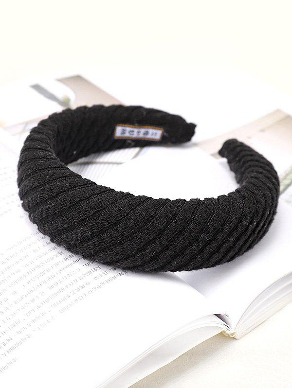 New Striped Knitted Fabric Hairband