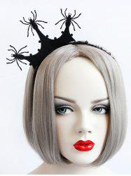 Spider Crown Halloween Gothic Party Exhibition Cos Accessory Hairband -