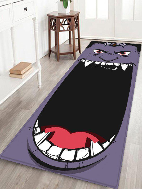 Buy Halloween Monster Printed Floor Rug