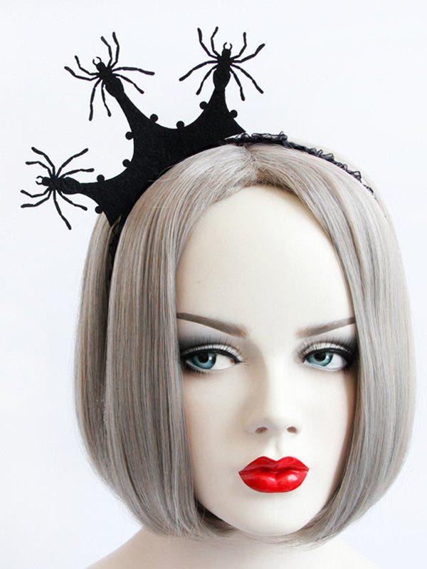Discount Spider Crown Halloween Gothic Party Exhibition Cos Accessory Hairband