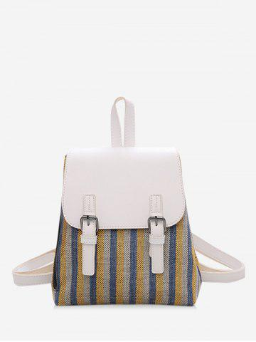 Campus PU Mini Student Leather Backpack