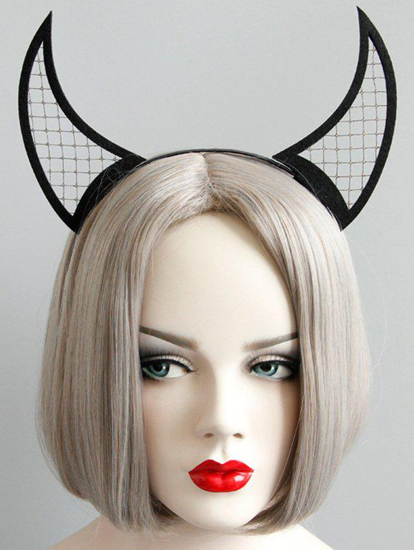 Online Halloween Devil Horns Net Hairband