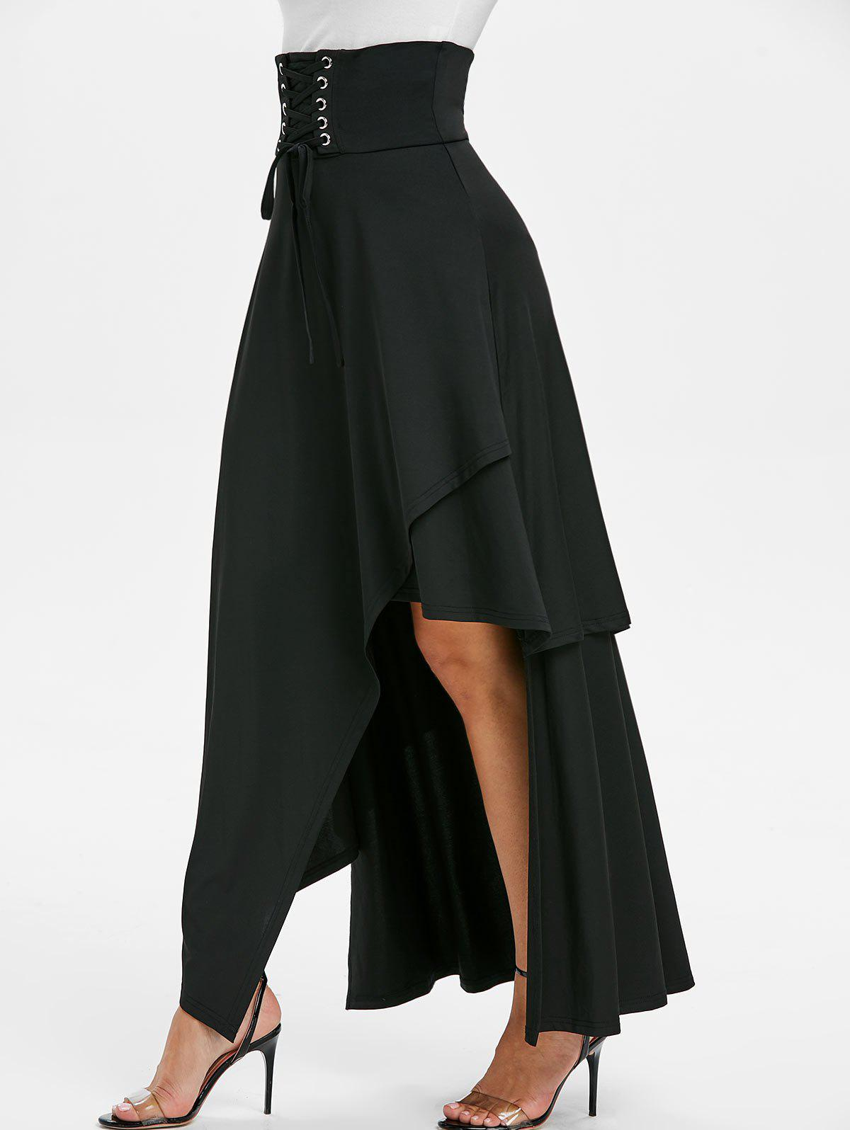 Online clothing stores for women | Rosegal Asymemtric Layered Skirt | Beanstalk Mums