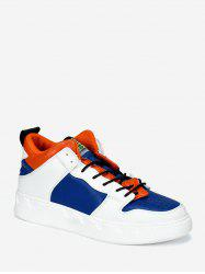 Color Block Casual Skate Shoes -