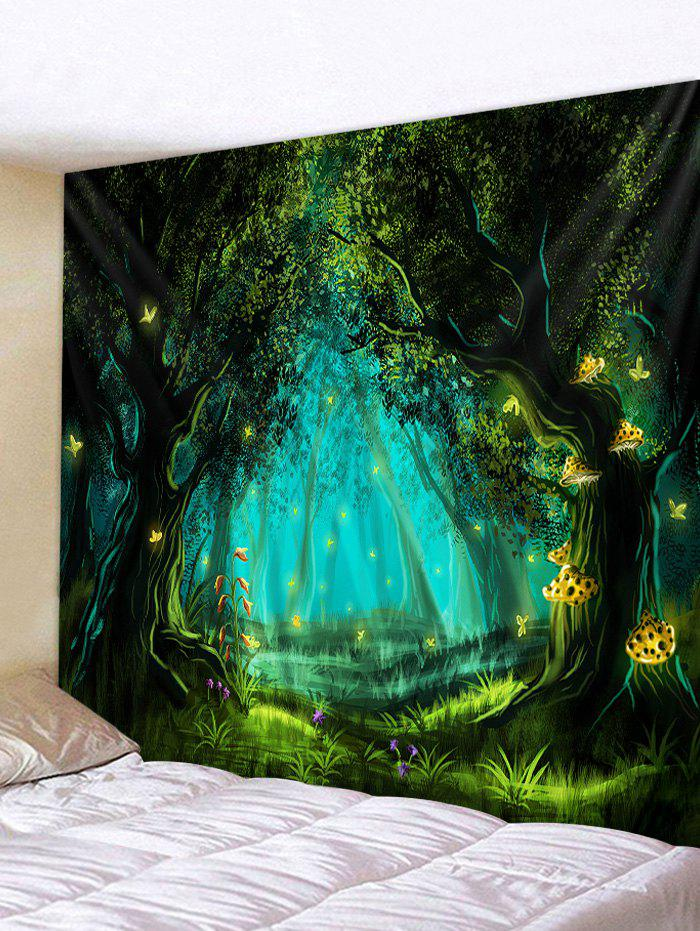 New Halloween Night Forest Print Tapestry Wall Hanging Art Decoration