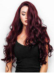 Long Body Wave Synthetic Side Part Wig -