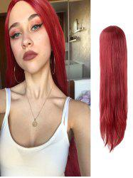 Cosplay Long Straight Center Part Halloween Wig -