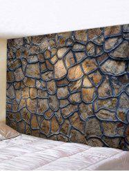 Stone Wall Printed Tapestry Wall Hanging Art Decoration -