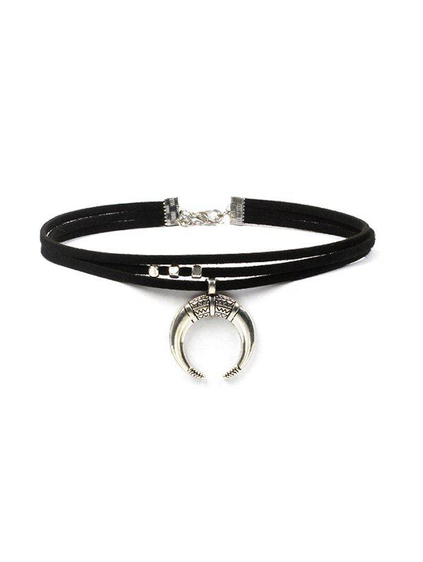Outfits Moon Design Choker Necklace