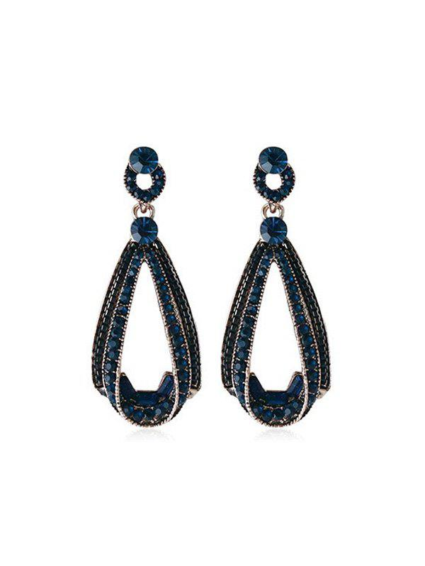 Shops Faux Gemstone Decoration Drop Earrings