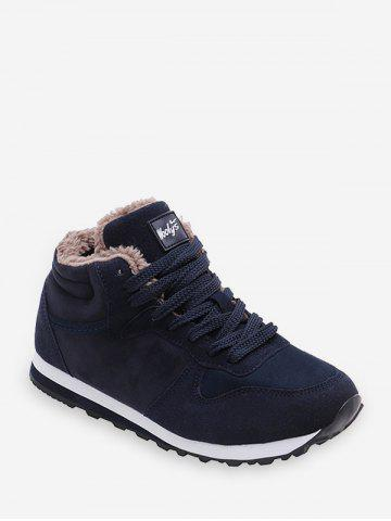 Lace-up Design Wool Casual Shoes