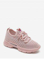 Casual Lace Up Breathable Mesh Sneakers -