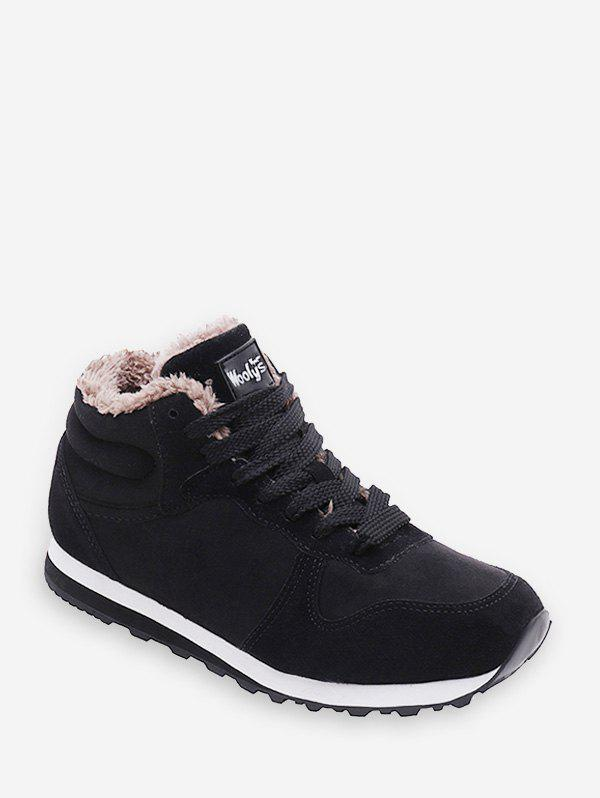Latest Lace-up Design Wool Casual Shoes
