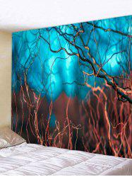 Vine Branch Print Tapestry Wall Hanging Art Decoration -