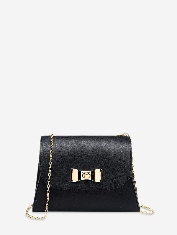 Discount Bow Lock Chain Small Square Cover Bag