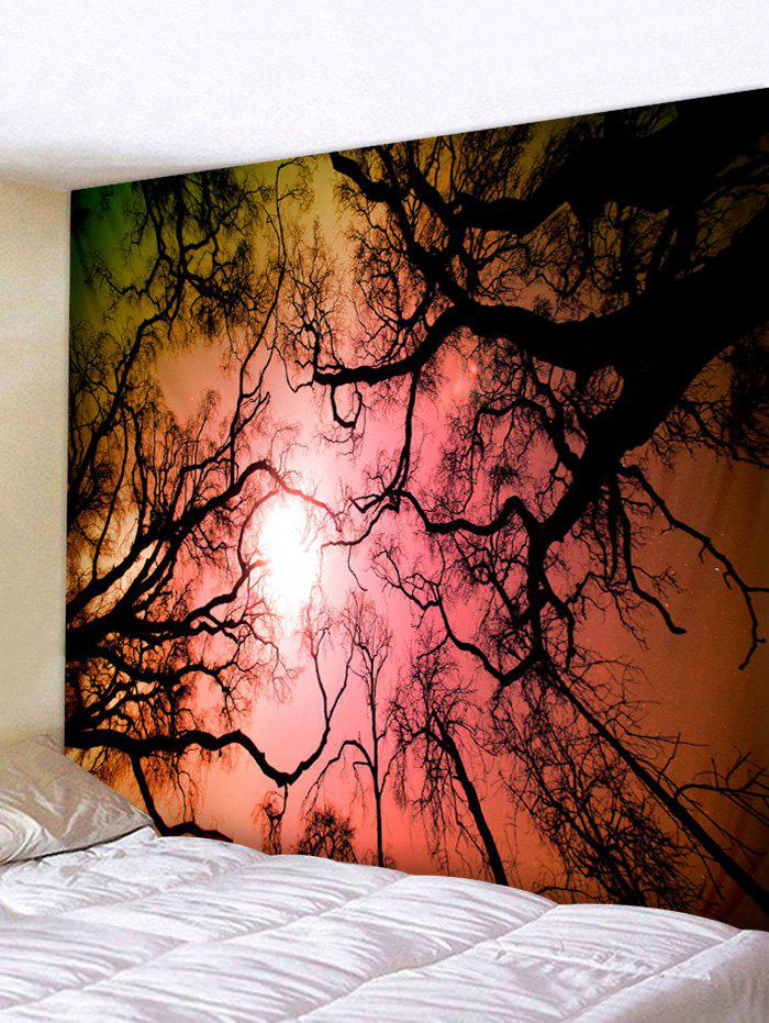 Buy Forest Sky Galaxy Print Tapestry Wall Hanging Art Decoration