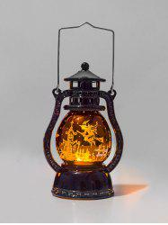 Halloween Theme LED Night Light Hanging Lantern -
