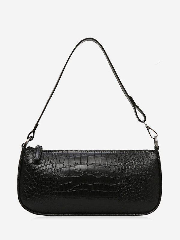 Store Retro Animal Embossed PU Leather Shoulder Bag