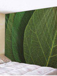 Leaf Texture Print Tapestry Wall Hanging Art Decoration -