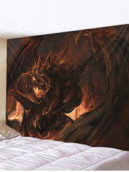 Halloween Monster Print Tapestry Wall Hanging Art Decoration -