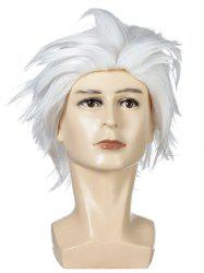Short Fluffy Straight Halloween Cosplay Synthetic Wig -