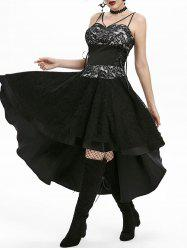 Vintage Lace Overlay Cami Dress -