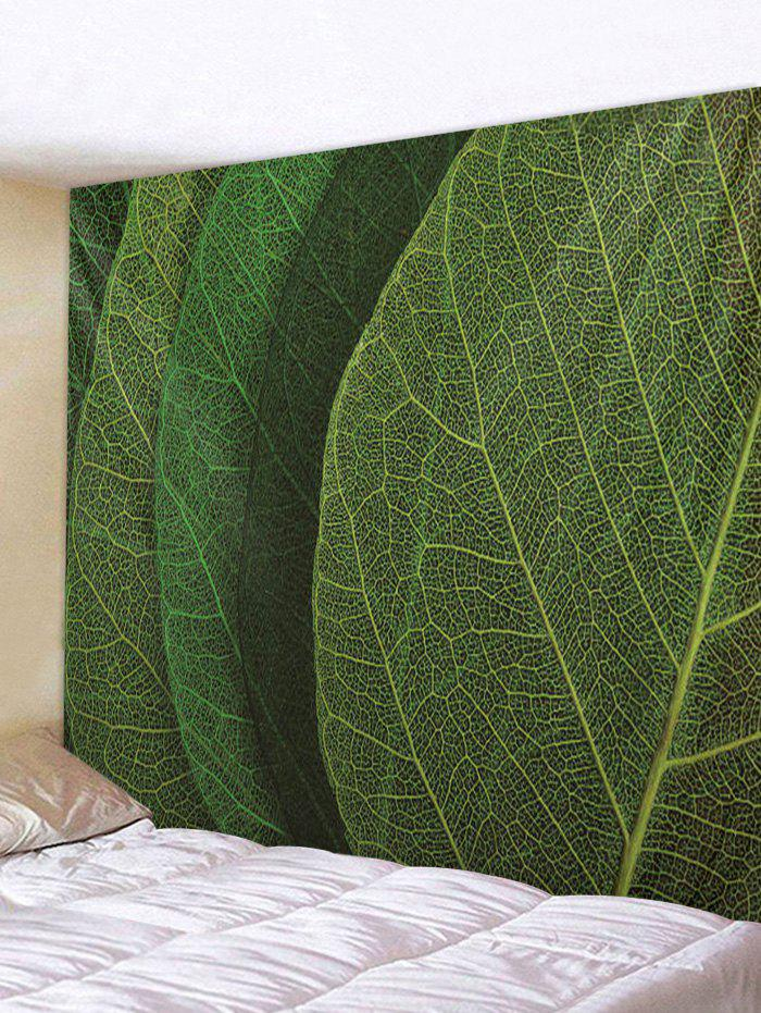 Cheap Leaf Texture Print Tapestry Wall Hanging Art Decoration
