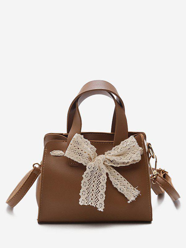 Outfit Retro Bowknot Decoration Crossbody Bag