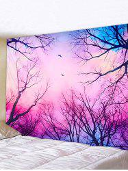 Dreamy Forest Printed Pattern Tapestry -