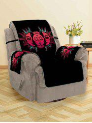 Halloween Sun Design Couch Cover -